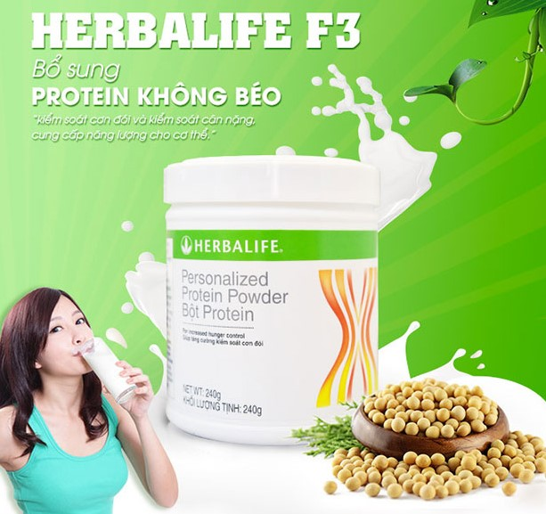 Bot protein Herbalife f3