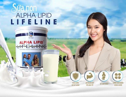 Sữa non alpha lipid cho người tiểu đường nhatky247 7